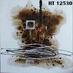 Peinture Abstraite Dark 80*80 cm