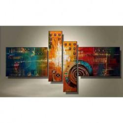 Peinture Modern City 180*90 cm