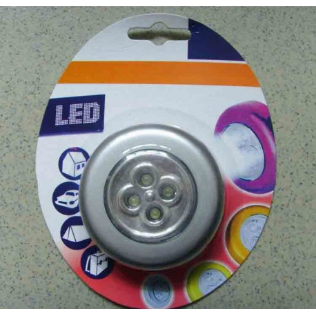 3 Lampes LED Stick and Click - Autocollant