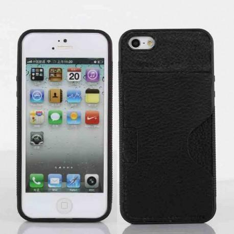 Coque I-Phone 5 avec porte carte