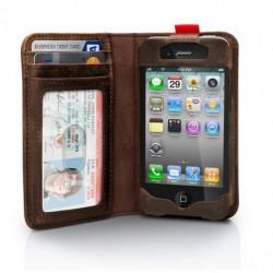 Etui I-Phone 4/4S Livre Rétro