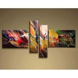 Peinture Abstraite Signature 90*180 cm